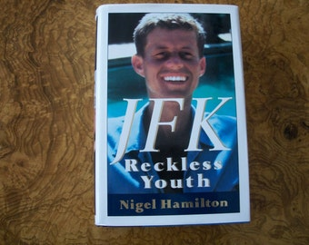 JFK,  Reckless Youth, Biography, Nigel Hamilton, Nanas Vintage Shop on Etsy