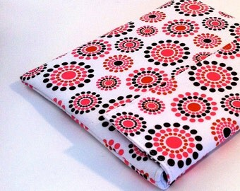 iPad Case, iPad Cover, iPad Sleeve in strawberry bursts