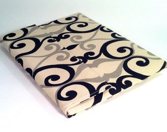 iPad Case, iPad Cover, iPad Sleeve in beige, black and gray