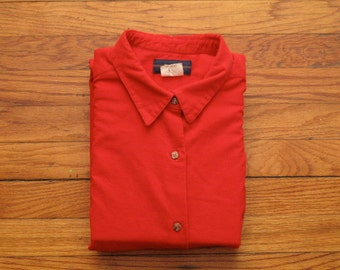 mens vintage corduroy shirt with elbow patches