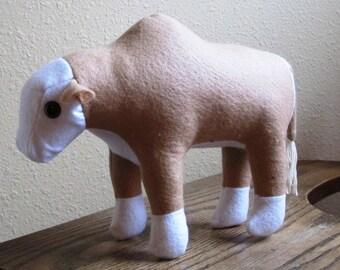Plush Limousine Bull