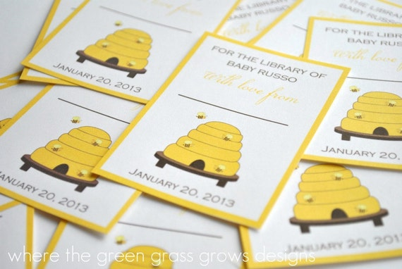 Beehive Bookplates