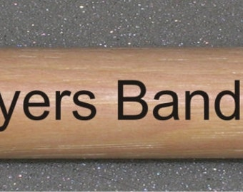 Custom Laser Engraved Drum Sticks Drummer Name