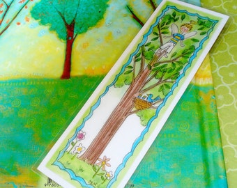 Bookmarks Fairies Original Illustration Party Favors