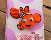 Orange Fish... Ribbon Sculpture Hairbow Set