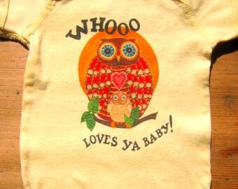 Owl Whooo Loves Ya Baby Bodysuit