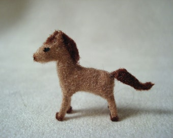 Tiny Horse for the Dollhouse