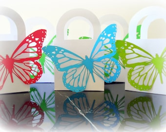 30 Butterfly Wedding Favor Boxes