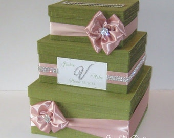 Wedding Card Box Bling Money Holder Custom Card Box - Custom  Made to Order