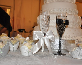 "Wedding Cake Stand Display 18 inch""Simply Elegant"""