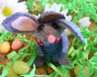 Bunny Finger Puppet /Collectible/Gift wrapped