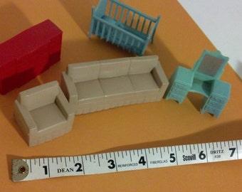Marx Doll Furniture Set