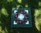 Christmas wreath table topper