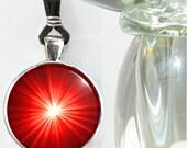 Red Chakra Necklace Reiki Jewelry Meditation Tool
