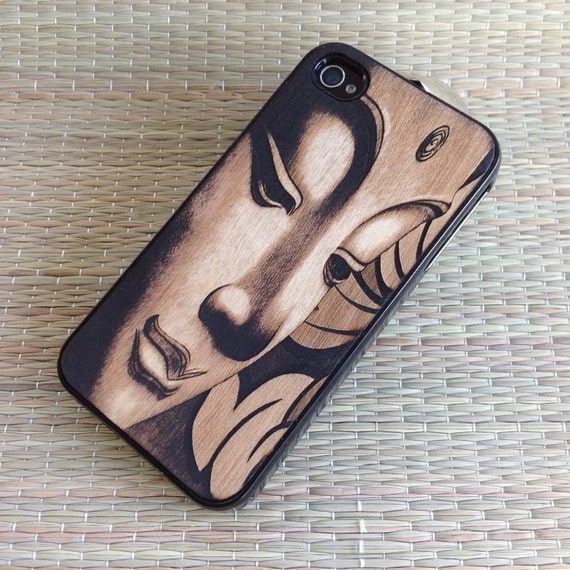 iPhone Case BUDDHA iPhone 5 & 5s Case - iPhone Wood Cover