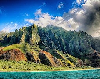Na'Pali Spires Kauai Canvas Art