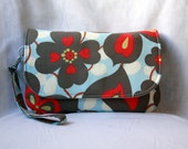 Diaper Clutch with Changing Pad - Amy Butler Morning Glory