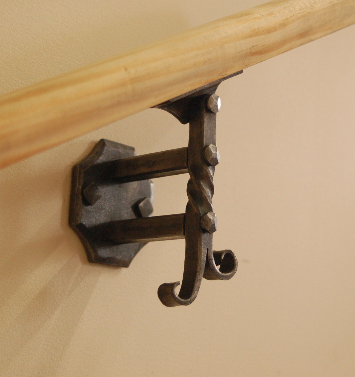 Wall Mounted Handrail Or Banister Bracket By