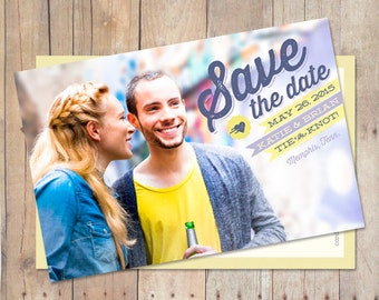 Save The Date, Save The Date Postcard, Save The Date Magnet - Today