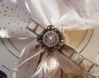 Restoration Chic Assemblage Napkin Rings