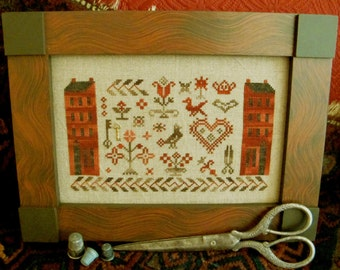 Sampler Friends~Cross Stitch Pattern