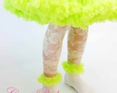 Lace Leggings for Toddler Luxury Ivory
