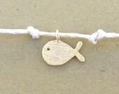 Dainty Summer Fish Charm Bracelet Finding Dory Nemo Gold