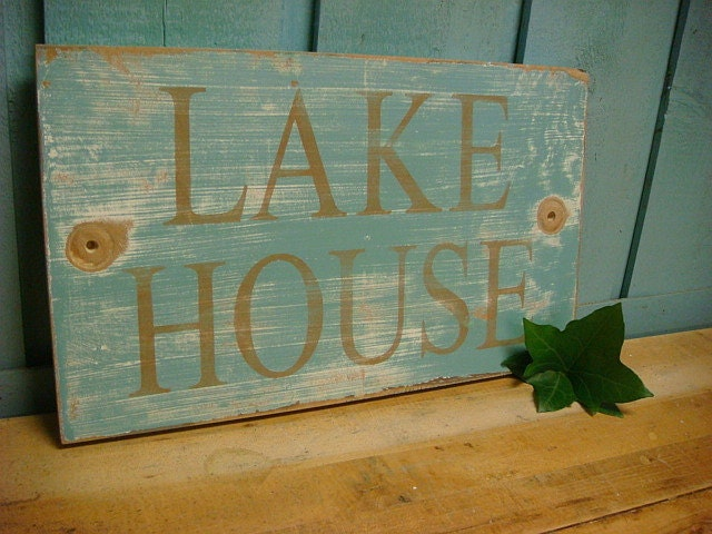 Lake Home Wall Decor : Unavailable listing on etsy