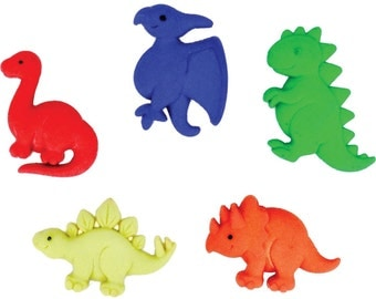 Dino Pets Plastic Buttons / Sewing Supplies/DIY Craft supplies /Novelty Buttons/ Kids Craft Supplies/Dress it Up