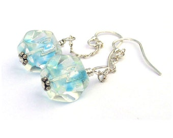 Blue Sky Earrings Sterling Silver Breaking Bad Gift
