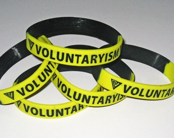 Voluntaryism Bracelets for Voluntary peaceful people