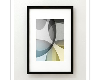 GLASS no.12 - Giclee Print - Contemporary Modern Style Minimalist Modernist  Abstract