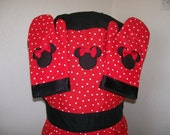 Minnie Mouse Full Apron