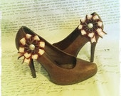 Custom Shoe Clips and Brooch for Jess