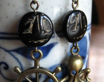 It's a pirate's life for me earrings