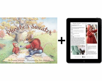 Phoebe's Sweater book & digital patterns
