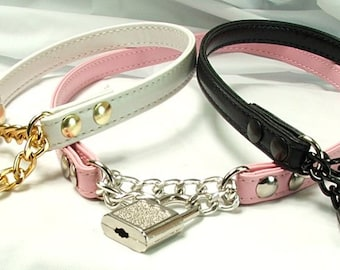 bdsm locking day collar choker mature slave collar submissive jewelry locking bondage collar discreet bdsm day collar