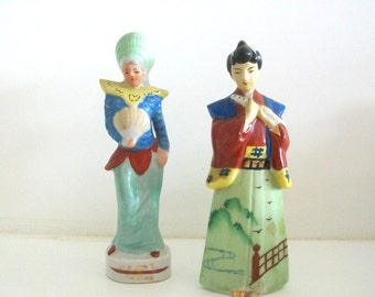 Hand Painted Made in Occupied Japan, Japanese Figurines
