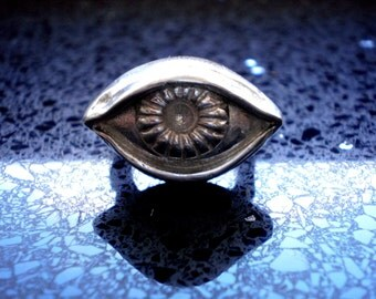 Voodoo Metal Eyeball Ring