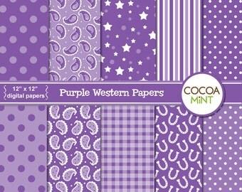 Purple Western Digital Papers