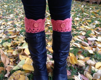 Crochet Boot Cuffs - Leg Warmers - Knee Warmers - Boot Toppers - Fashion Trend 2014 - Custom Orders Welcome