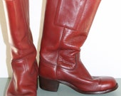 Frye Redwood Color Campus Restored   Boots Mens Size 9 1/2  Womens 10 1/2