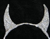 The Devil Wears Glitter Tiara