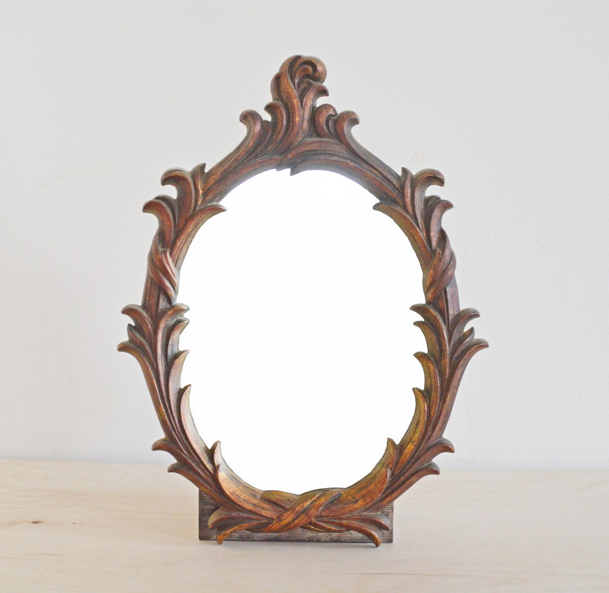 Summer sale vintage ornate mirror decorative wall by mothrasue for Fancy wall mirrors for sale