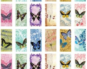 Digital Sheet Butterflies in flight No. 14 Instant Download