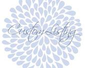 Custom Listing for Eric