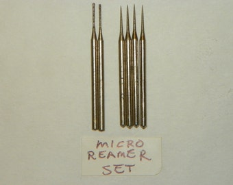 Micro Diamond Bead Reamer Set