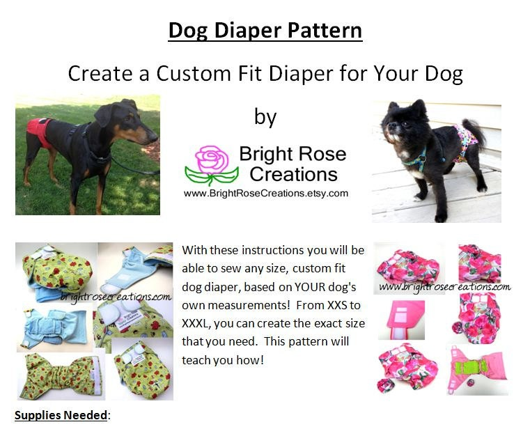 Il Fullxfull Kl Q on Dog Diaper Sewing Pattern