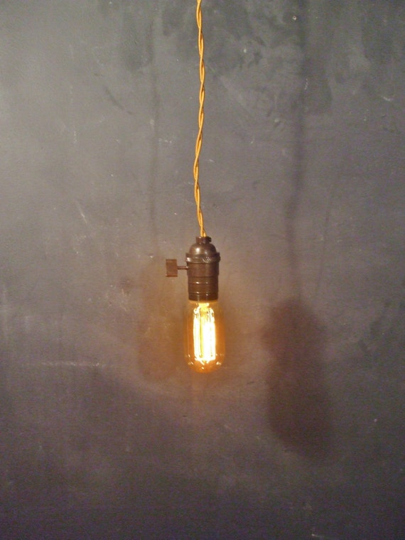 vintage minimalist industrial bare bulb light sockets by. Black Bedroom Furniture Sets. Home Design Ideas