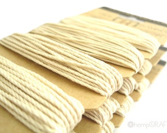 Natural Bamboo Cord - All Natural High Quality Four Pack